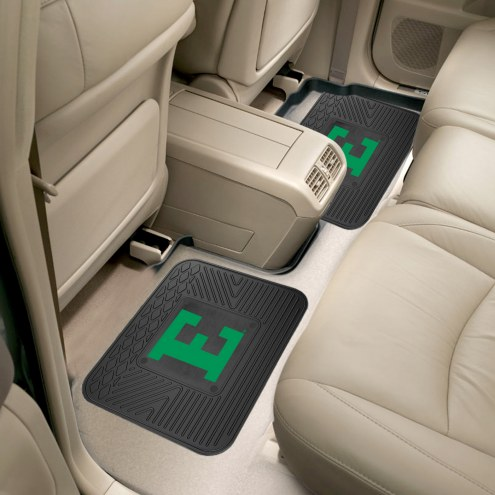 Eastern Michigan Eagles Vinyl 2-Piece Rear Floor Mats