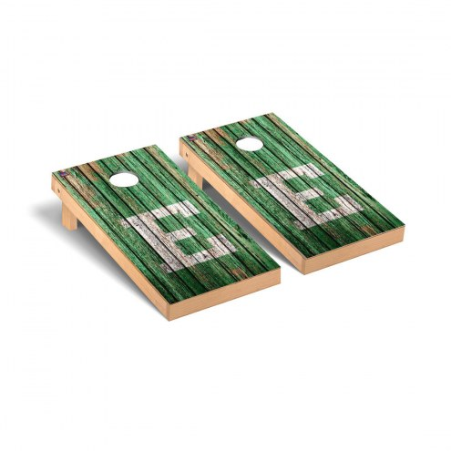 Eastern Michigan Eagles Weathered Cornhole Game Set