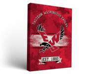 Eastern Washington Eagles Banner Canvas Wall Art