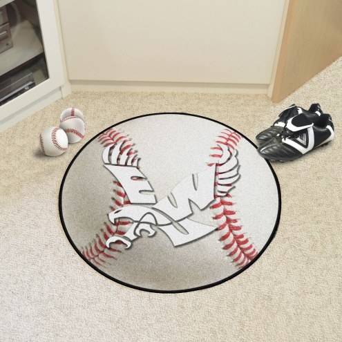 Eastern Washington Eagles Baseball Rug