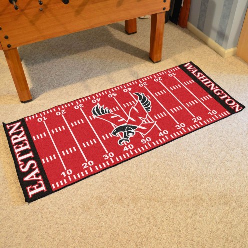 Eastern Washington Eagles Football Field Runner Rug