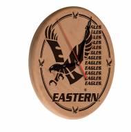 Eastern Washington Eagles Laser Engraved Wood Clock