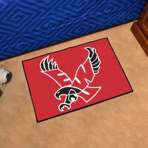 Eastern Washington Eagles Red Starter Rug
