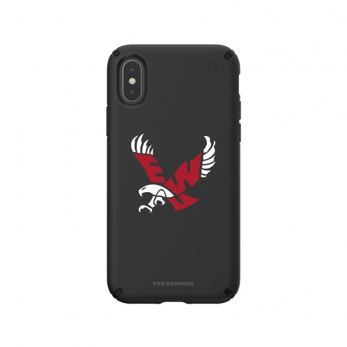 Eastern Washington Eagles Speck iPhone X/Xs Presidio Pro Black Case