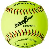 """Easton IncrediBall 11"""" Softouch Training Softball"""