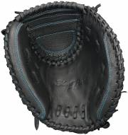 "Easton Black Pearl Youth BP2FP 33"" Fastpitch Catcher's Mitt - Right Hand Throw"
