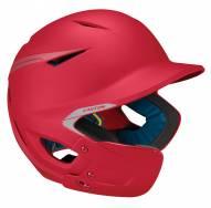 Easton PRO X Matte Youth Baseball Batting Helmet with Jaw Guard - Left Hand Batter