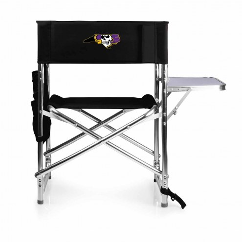 ECU Pirates Black Sports Folding Chair