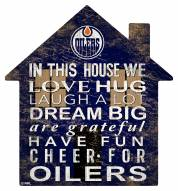 "Edmonton Oilers 12"" House Sign"