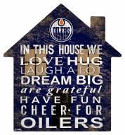 "Edmonton Oilers 12"" House Sign"