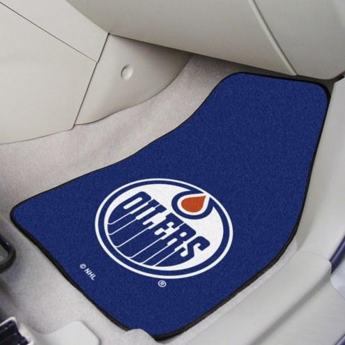 Edmonton Oilers 2-Piece Carpet Car Mats