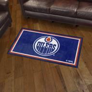 Edmonton Oilers 3' x 5' Area Rug