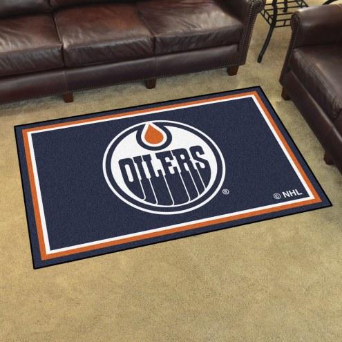 Edmonton Oilers 4' x 6' Area Rug