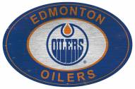 "Edmonton Oilers 46"" Heritage Logo Oval Sign"