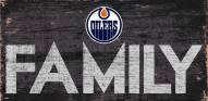 "Edmonton Oilers 6"" x 12"" Family Sign"