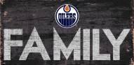 "Edmonton Oilers 6"" x 12"" Family Sign"
