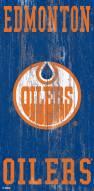 "Edmonton Oilers 6"" x 12"" Heritage Logo Sign"