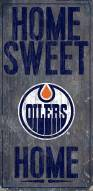 "Edmonton Oilers 6"" x 12"" Home Sweet Home Sign"