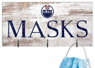 "Edmonton Oilers 6"" x 12"" Mask Holder"
