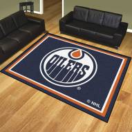 Edmonton Oilers 8' x 10' Area Rug