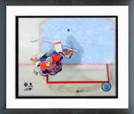Edmonton Oilers Ben Scrivens Action Framed Photo