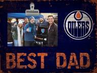 Edmonton Oilers Best Dad Clip Frame