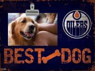 Edmonton Oilers Best Dog Clip Frame