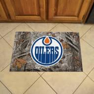 Edmonton Oilers Camo Scraper Door Mat