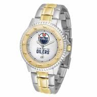 Edmonton Oilers Competitor Two-Tone Men's Watch