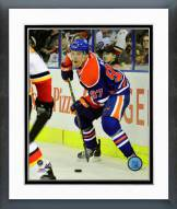 Edmonton Oilers Connor McDavid Action Framed Photo