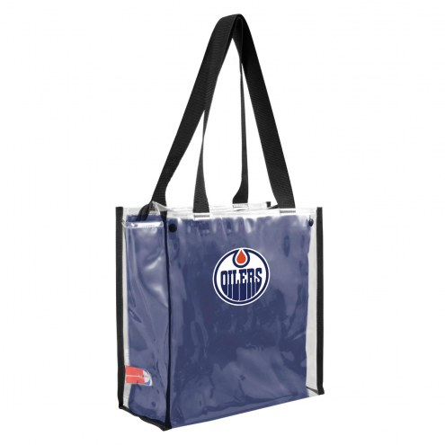 Edmonton Oilers Convertible Clear Tote