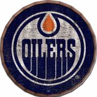"Edmonton Oilers Cracked Color 16"" Barrel Top"