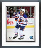 Edmonton Oilers Darnell Nurse Action Framed Photo