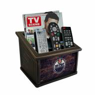 Edmonton Oilers Distressed Team Color Media Organizer