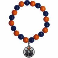 Edmonton Oilers Fan Bead Bracelet