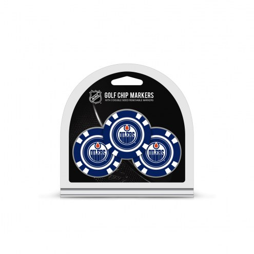 Edmonton Oilers Golf Chip Ball Markers