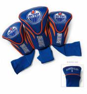 Edmonton Oilers Golf Headcovers - 3 Pack