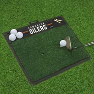 Edmonton Oilers Golf Hitting Mat