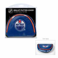 Edmonton Oilers Golf Mallet Putter Cover