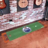Edmonton Oilers Golf Putting Green Mat
