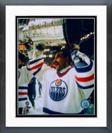 Edmonton Oilers Grant Fuhr with Stanley Cup Framed Photo