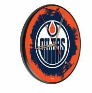 Edmonton Oilers Digitally Printed Wood Clock