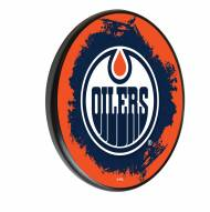 Edmonton Oilers Digitally Printed Wood Sign
