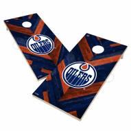 Edmonton Oilers Herringbone Cornhole Game Set