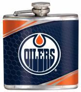 Edmonton Oilers Hi-Def Stainless Steel Flask