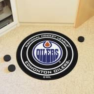 Edmonton Oilers Hockey Puck Mat