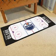 Edmonton Oilers Hockey Rink Runner Mat