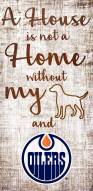 Edmonton Oilers House is Not a Home Sign
