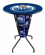 Edmonton Oilers Indoor/Outdoor Lighted Pub Table