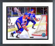 Edmonton Oilers Jari Kurri 1988-89 Action Framed Photo